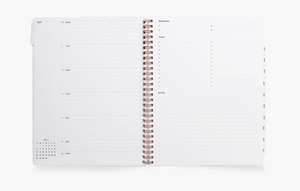 20/21 Year Task Planner - Oxford Blue