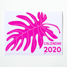 Load image into Gallery viewer, 2020 Botanical Calendar