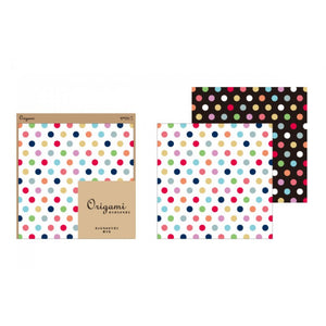 Origami Paper - Dots + Mosaic