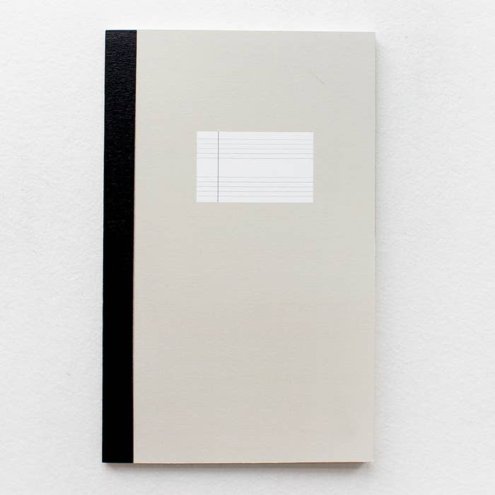Slim Lined Notebook