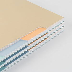 Fawn Lined Notebook - 5 Tabs