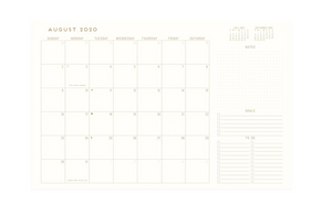 Forest Radiant Sun Planner (2020-2021) - Monthly