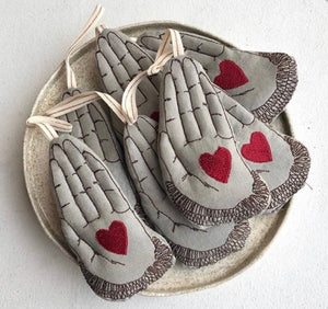 Heart in Hand Ornament