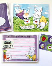 Load image into Gallery viewer, Bunny Letter Writing Kit