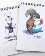 Load image into Gallery viewer, 2020 Swimsuit Animal Calendar