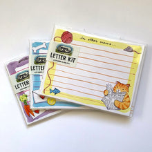 Load image into Gallery viewer, Cat Letter Writing Kit