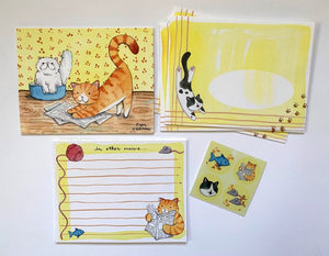 Cat Letter Writing Kit