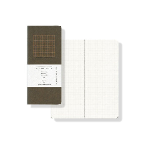 Yamamoto Paper RO-BIKI NOTE - 4.5mm Cross Grid Notebook