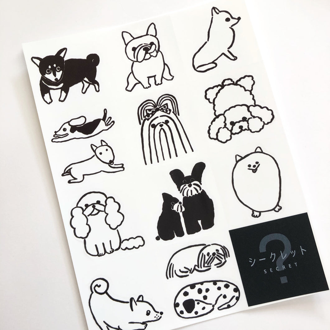 Dog Sticker Sheet