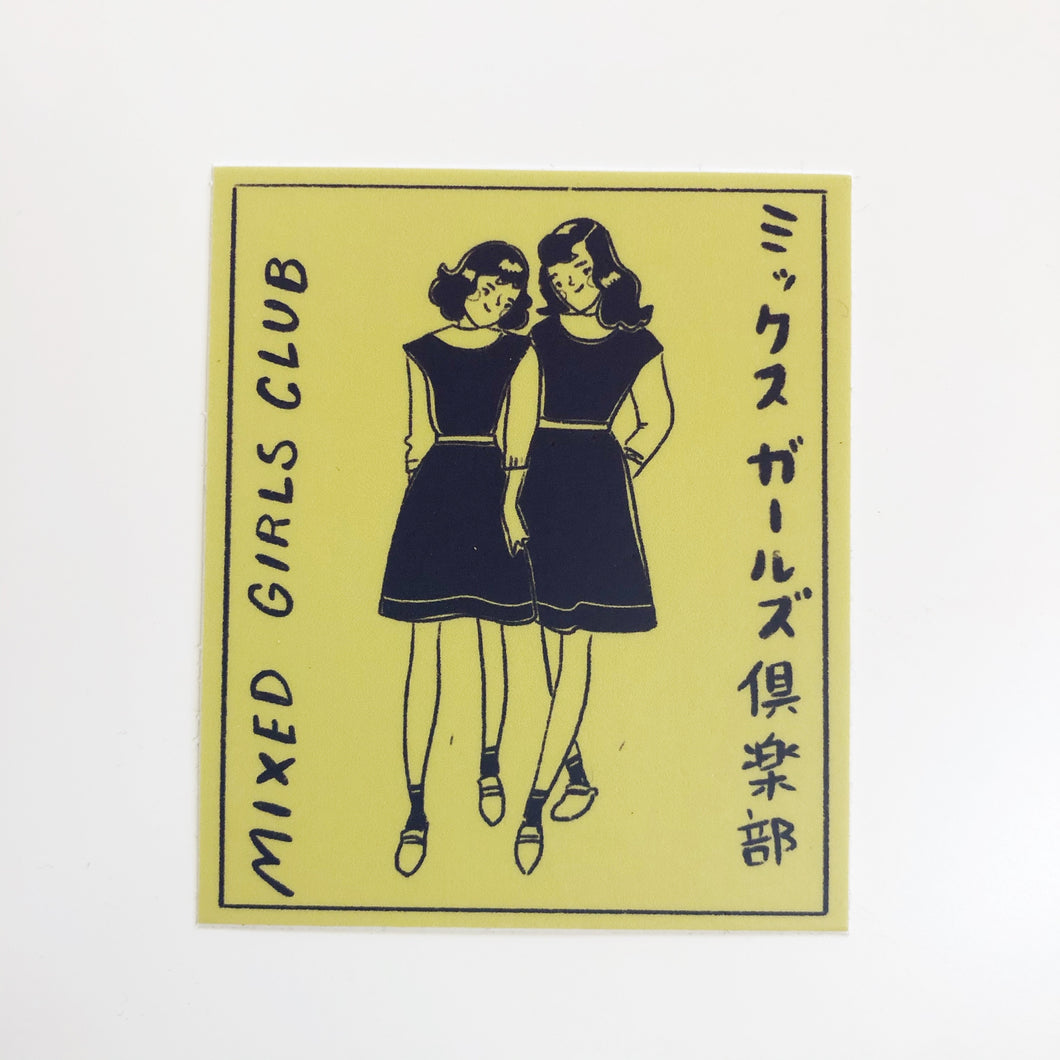 Mixed Girls Club Sticker