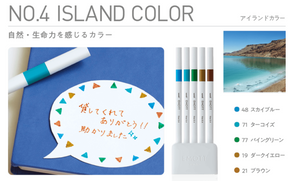 Emott Fineliner Set of 5 - Island