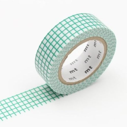 Grid Washi Tape - Emerald
