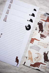 All My Cats Letter Set