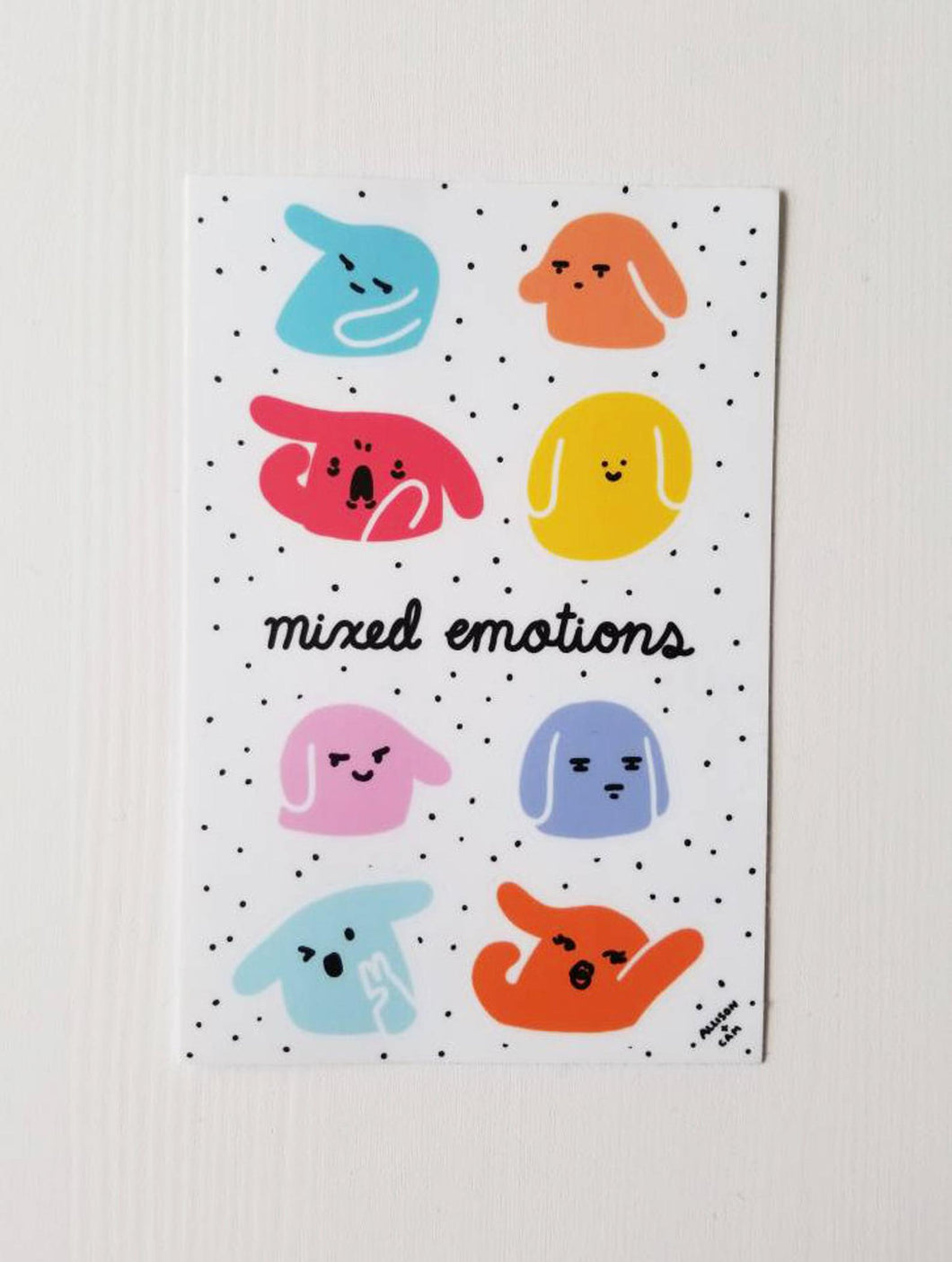 Mixed Emotions Sticker Sheet