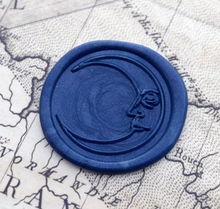 Load image into Gallery viewer, Moon Wax Seal Stamp