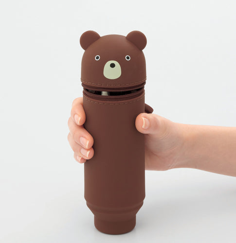Bear Silicone Pencil Case