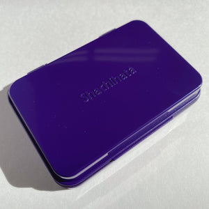 Shachihata Stamp Purple - Small