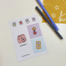 Load image into Gallery viewer, Cute Life Series Sticker Sheet- G