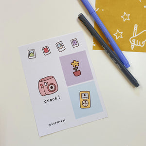 Cute Life Series Sticker Sheet- G