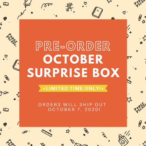 Paper Please Club - October Surprise Box (LIMITED TIME ONLY!)