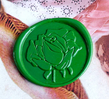 Load image into Gallery viewer, Rose Wax Seal Stamp