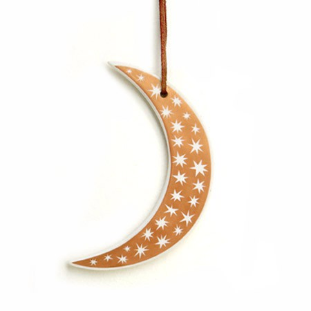 Stars Moon Ornament