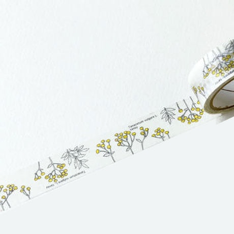 Botanical Garden Washi Tape - White Tansy