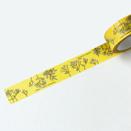 Botanical Garden Washi Tape - Yellow Tansy