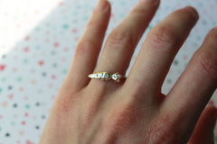 Genuine 1 Ct (Carrot) Diamond Ring
