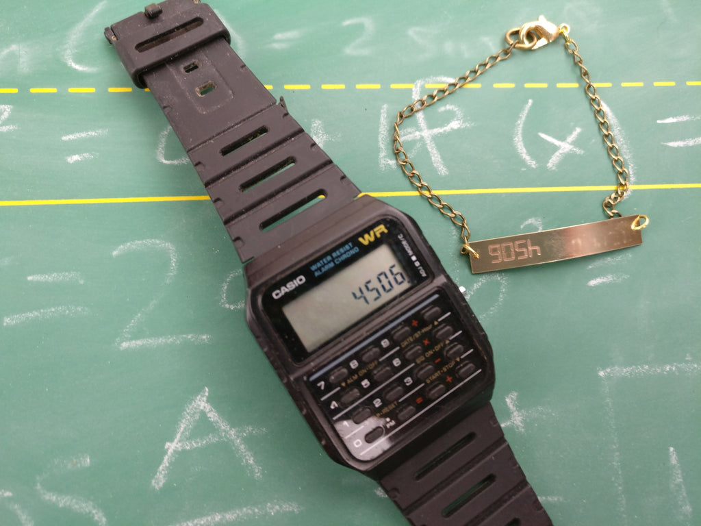 Calculator Word Bracelet: GOSH (4509)