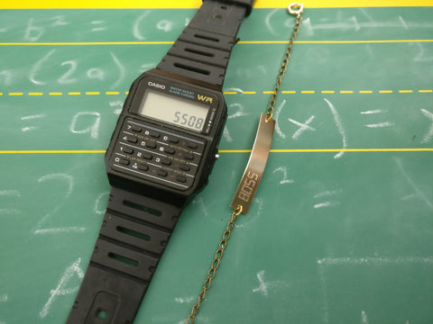 Calculator Word Bracelet: BOSS (5508)