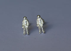 Astronaut: Out of this World Mix and Match Stud earrings in Sterling Silver