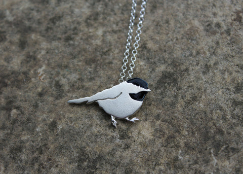 Chickadee Necklace