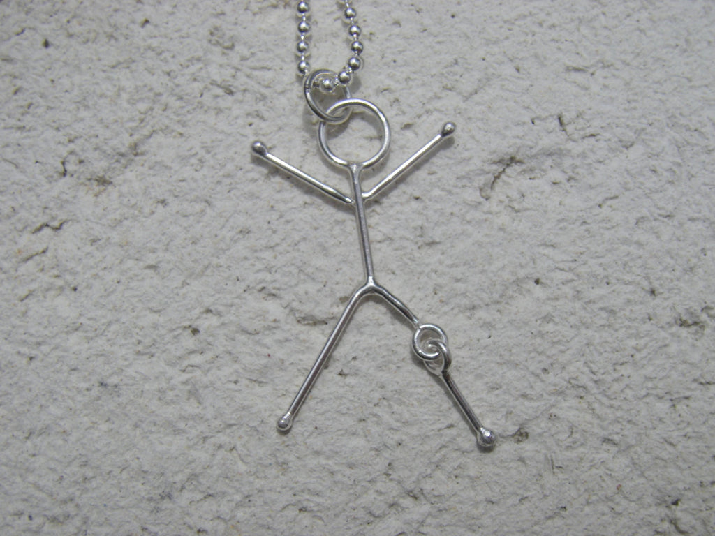 Injury Series - Knee Injury Pendant