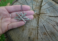 Slashpile Necklace - Realistic Logs (large)