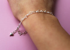Linked Hearts bracelet