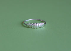 SEEDPOD ring in Sterling Silver
