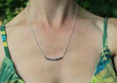 Cedar Twig necklace 2 in sterling silver