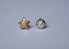 Moon: Out of this World Mix and Match Stud earrings in Sterling Silver