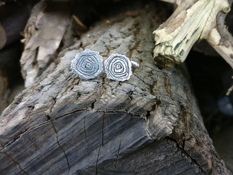 Tree Rings Cufflinks