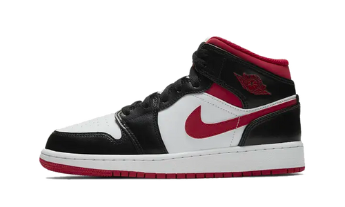 Jordan 1 Mid 'Gym Red Black White' (GS)