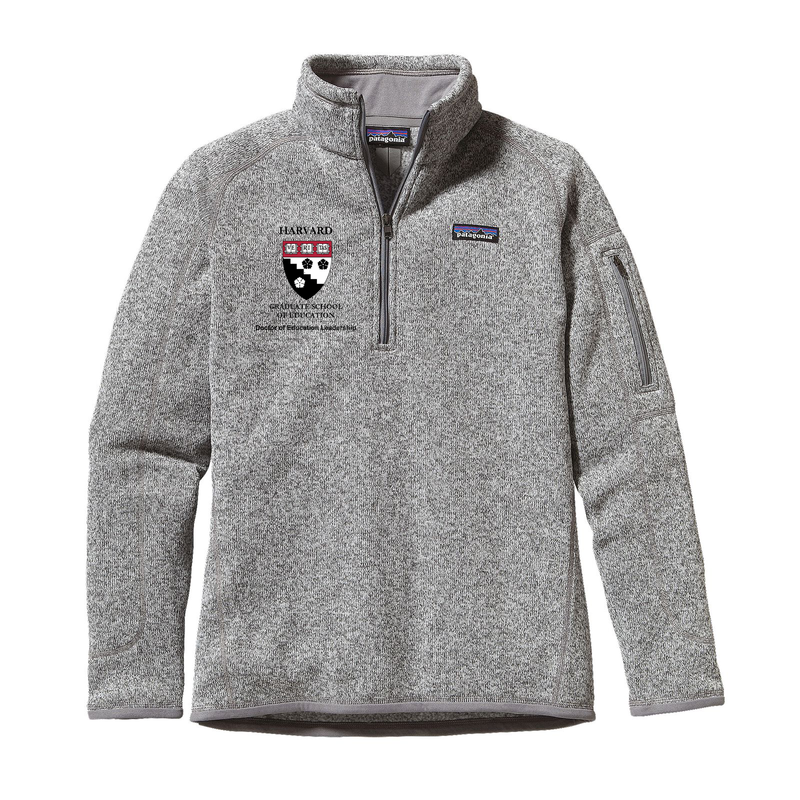 HGSE DEL Women's Better Sweater 1/4 Zip Fleece