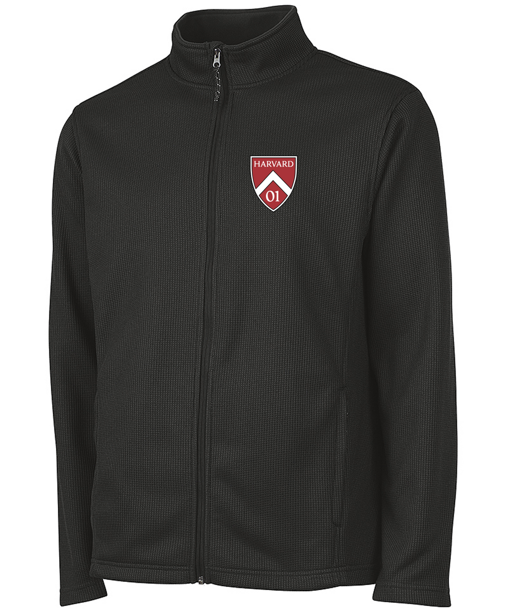 Harvard Class of 2001 20th Reunion Men's Rib Knit Jacket