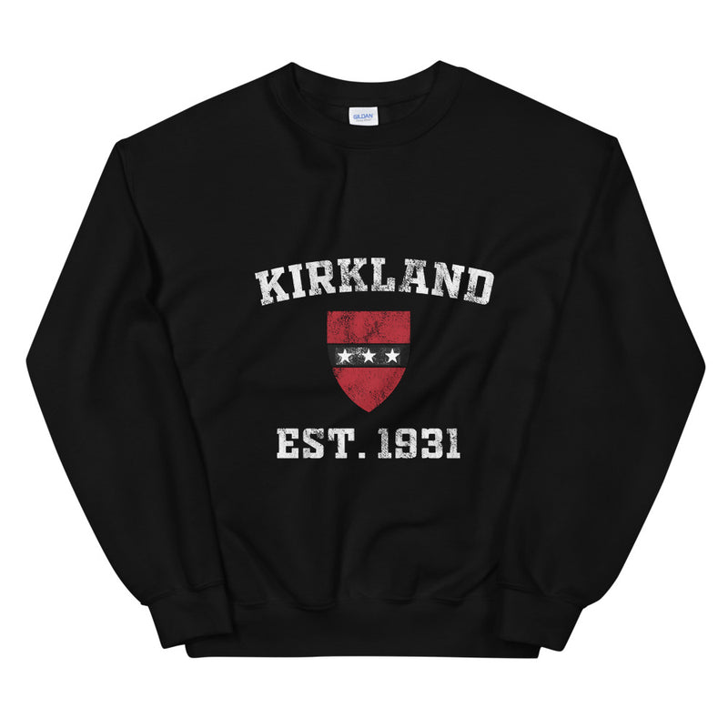 Kirkland House - Distressed Sweatshirt