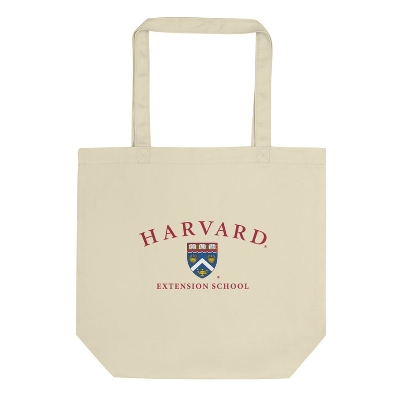 Extension School Crest Eco Tote Bag