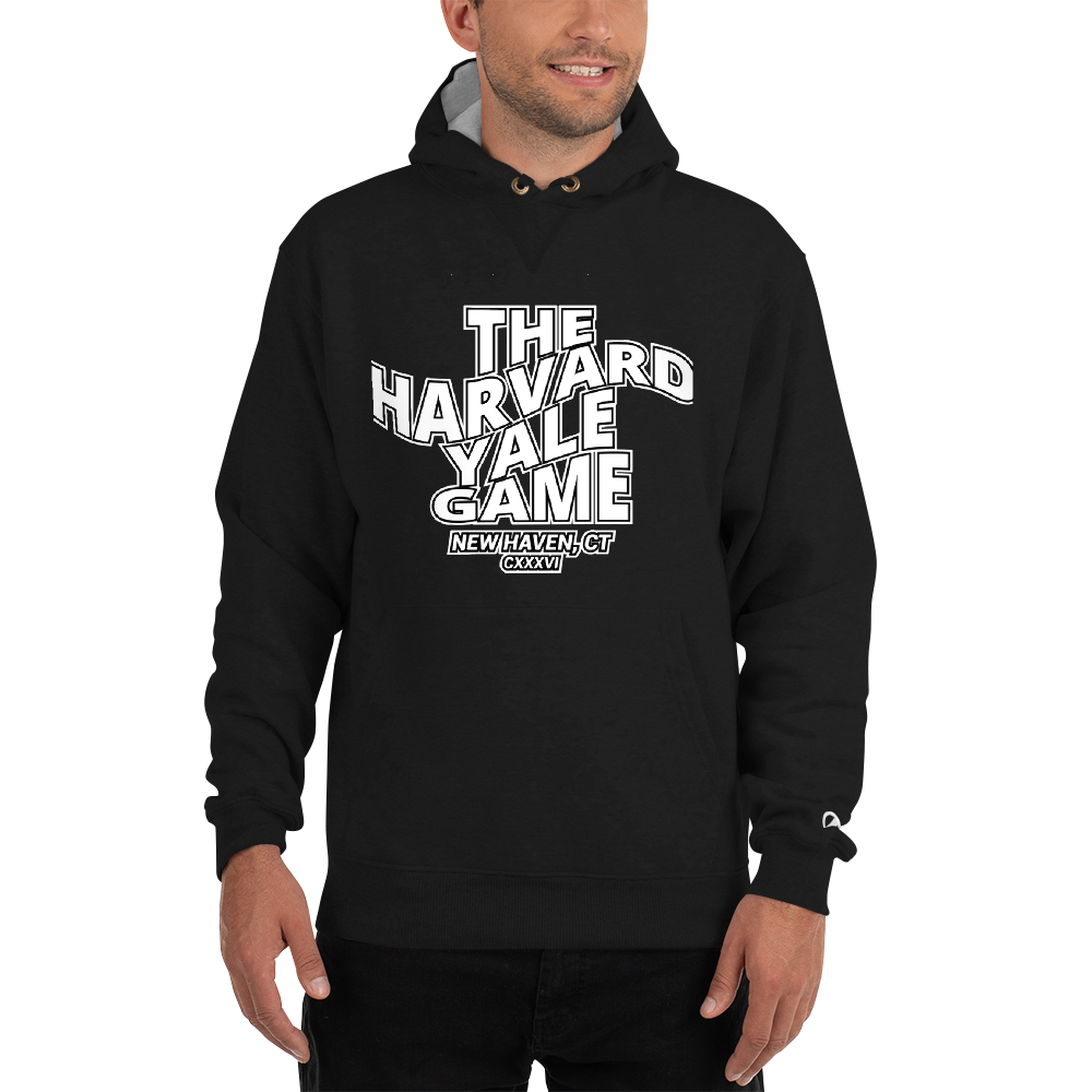 Game Day Champion Hoodie - Harvard Yale