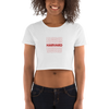 Women's Harvard Crop Tee