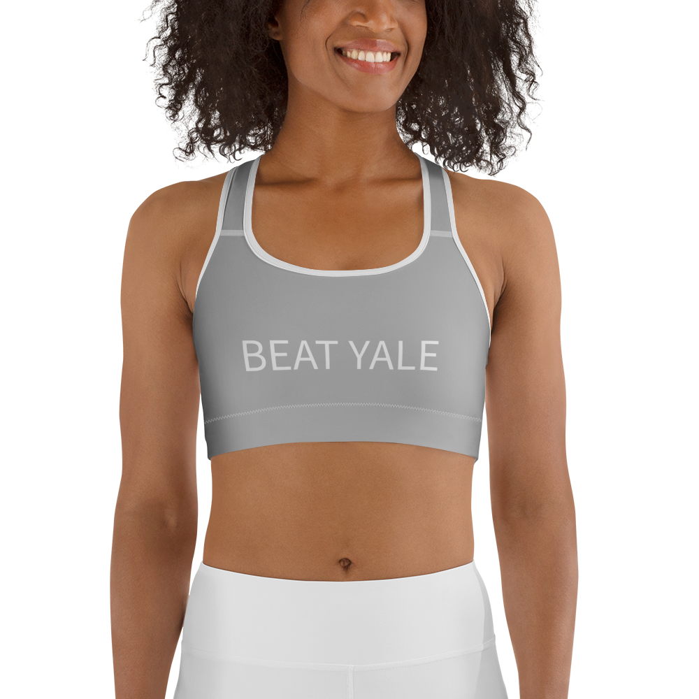 Beat Yale Sports bra - Harvard Yale