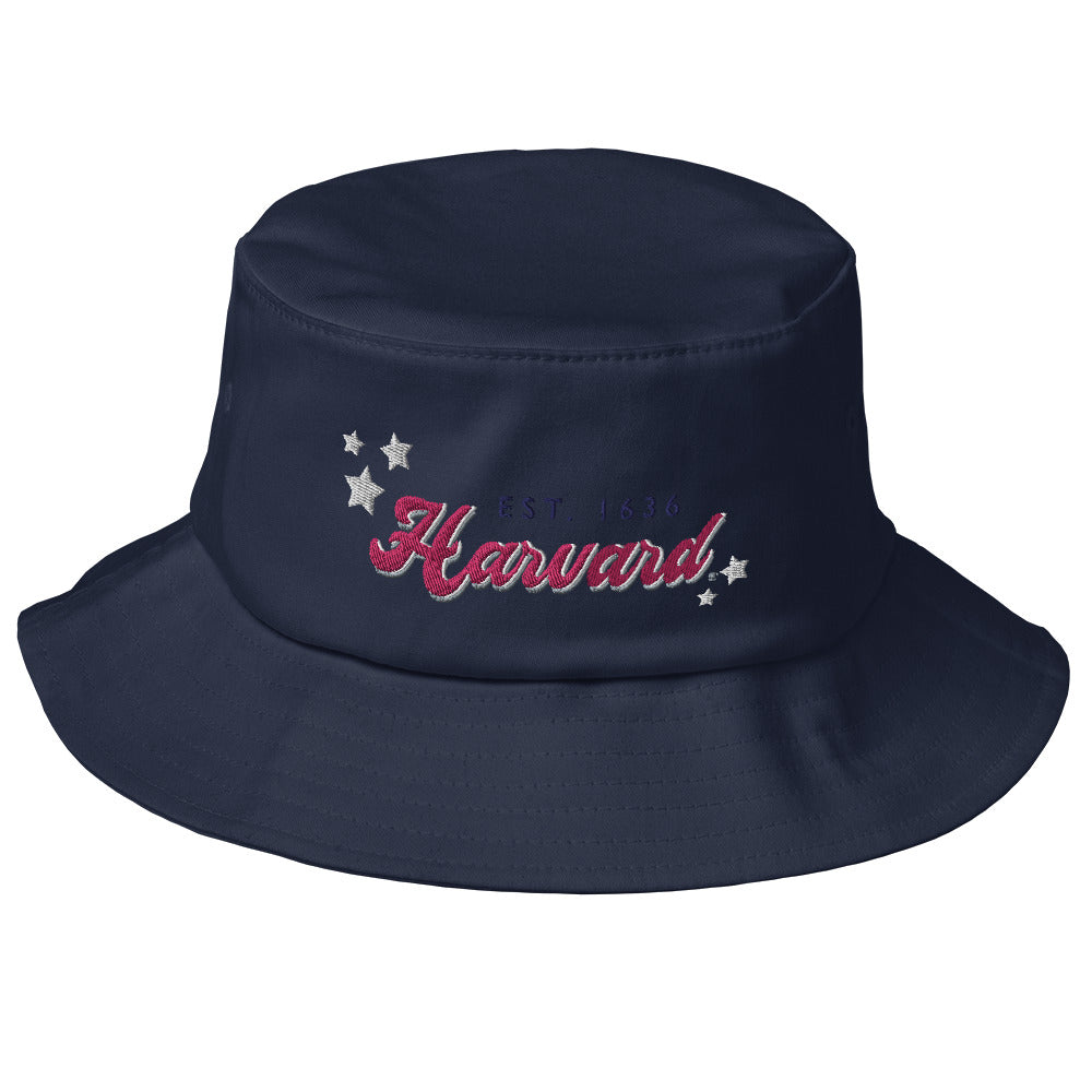Harvard Groovy Bucket Hat