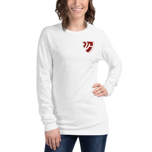 Harvard College Class of 2021, Unisex Long Sleeve Tee, Shield